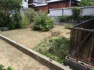 高浜市 草刈り 作業後1