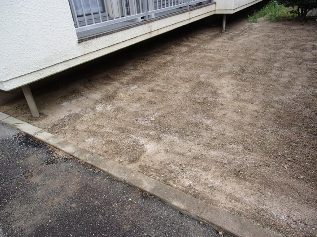 安城市 アパート 除草剤散布